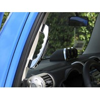 DISCONTINUED - Pirate Mfg FJ0004SC  07-14 Toyota FJ Cruiser Billet Interior Grab Handles Chrome