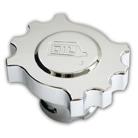 Pirate Mfg MU0044SC 2005-13 Ford Mustang GT & 4.0L V6 Chrome Billet Oil Cap