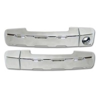 Pirate 07-12 Toyota FJ Cruiser & Tundra Chrome Billet Front Door Handle Covers