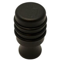 2007-10 Jeep Wrangler JK Black Powder Coated 4WD Gear Shift Knob, Ea.