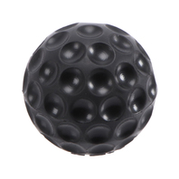 Golf Ball Shift Knob, Black, M12x1.5 thread pitch, 89-95 Corrado, 75-92 Golf, 74-89 Scirocco