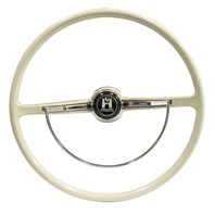Stock VW Design Replacement GREY Steering Wheel Kit T-1, Ghia, Type-3 1962-1971