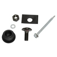 Bumper End Cap Mounting Kit, Compatible with VW Vanagon