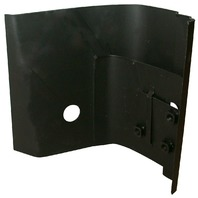 Driver/Left Side Door Pillar Hinge, Compatible with VW 63 & Later Bug