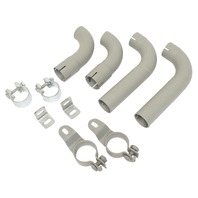 Euro Tail Pipe Kit, Compatible with Porsche Euro 60-63 356B & 64-65 356C
