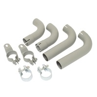 US Tail Pipe Kit, Compatible with Porsche 60-63 356B, 64-65 356C