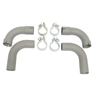Tail Pipe Kit, Compatible with Porsche 356A 55-59