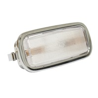 Dome Light w/ Chrome Bezel, Compatible with Porsche All 356B (T6), 356C, 912, 65-78 911