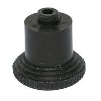 Dash Knob, Black, Compatible with VW Bug 68-77, Super Beetle 71-72, Ghia 68-74