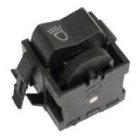 EMPI 98-9422 Headlight Switch, Headlight Switch, 5 Prong, Type 1 and S/B 73-79,  133-941-531B