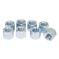 EMPI Bugpack - Heavy Duty Steel Plated Exhaust Nuts, Set 8 VW BUG BUS B250520