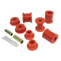 Front Control Arm & S Bar Bush Kit, Super Beetle, 74-79, Red