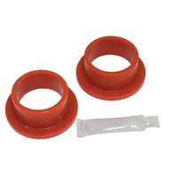 "Flanged Grommets, 2-1/4"" O.D. x 1-7/8"" I.D., Pair, Red, Compatible with VW Dune Buggy"