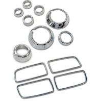 2011-2014 Chevy Camaro Chrome Billet 12pc Interior Trim Kit