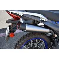 DIRECT BOLT-ON POLISHED STAINLESS STEEL PERFORMANCE EXHAUST FOR THE CSC TT250 ENDURO/DUAL SPORT BIKE WITH JET KIT