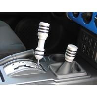Pirate FJ0007SA-KIT 07-14 Toyota FJ Cruiser Silver Billet Shift Knob Pkg Auto