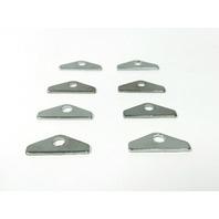 Hot Rod Chevy 8 Chrome Valve Cover Hold Downs Mini Tabs SBC 265 283 327 350 383