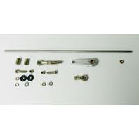 Universal Adjustable Column Shift Linkage Kit - 350, 400, 700R4 GM Auto Trans