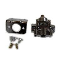 Chrome Aluminum Adjustable Fuel Pressure Regulator 4-9 PSI SBC BBC Ford Chevy