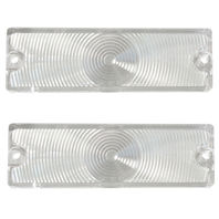 (2) 1965 Chevy Impala Bel Air Biscayne Caprice CLEAR Park Light Turn Lenses