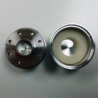 Hot Rod Black Ball Milled Aluminum PCV & Valve Cover Breather Kit W/ Grommet