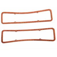 SBC Cork Valve Cover Gaskets, 0.313 in Thick,Pair 265-283-305-327-350-V8 Hot Rod