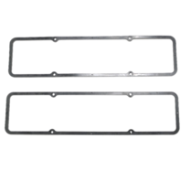 SBC Rubber Steel Core Valve Cover Gaskets, 0.1875 Thick,Pair 265-283-305-327-350