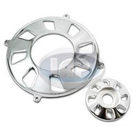 Generator/Alternator Pulley 2-Piece Cover, Polished For Type-1