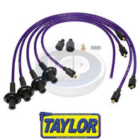 VW BUG BAJA SAND RAIL CAR SILICONE IGNITION PLUG WIRE SET PURPLE 8MM,TAYLOR USA