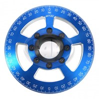 "6"" Street Power Crankshaft Power Pulley 6"", Blue For Air-Cooled VW"