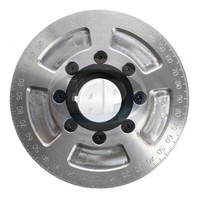"""5-1/4"""" Street Power Crankshaft Power Pulley, Silver For Air-Cooled VW"""