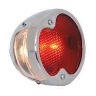 KNS Accessories KA0057 Stainless Steel 12V Tail Light (1932 Ford for Driver Side)