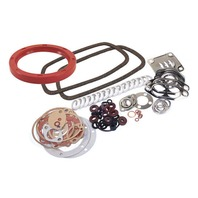 Engine Gasket Kit w/ Silicone Rear Main Seal, Fits VW Bug/Beetle 1300c-1600cc