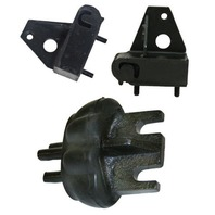TRANSMISSION MOUNT KIT, 3 PC,  1973-79 VW TYPE 1 BEETLE & GHIA