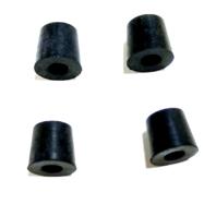 (4) Brake Bleeder Valve Caps, 211-611-483, Rubber Plug, dune buggy vw baja bug