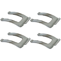 Empi 98-6685-B Stainless Steel Brake Hose Clips Bug-Bus-Ghia-Squareback All Years