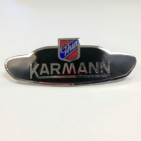 Side Body Badge Emblem Logo, VW Volkswagen Karmann Ghia 1956-1974