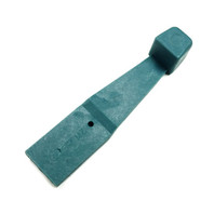 VW BUS Fresh Air Lever, Blue 1974-1979 Volkswagen Type 2 Knob Slider