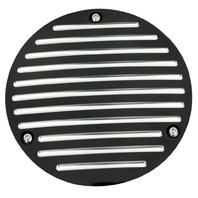 Black Ball Milled Millennium Derby Cover Fits Big Twins 70-98