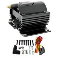 Black Universal 12 Volt External Ignition Coil E-Core Coil 50K Volt SB Chevy For