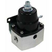 EFI Bypass Pressure Regulator 40-75 PSI - Black