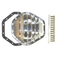 "Polished Aluminum Chevy GMC 14 Bolt Diff  10.5"" RG Differential Cover 2500HD 350"