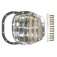 """Polished Aluminum Ford 12-Bolt 10.5"""" RG Differential Cover F150 F250 F350"""