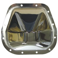 """Chrome Steel Ford 12 Bolt  9.75"""" RG Diff  Differential Cover Truck F150 F250"""