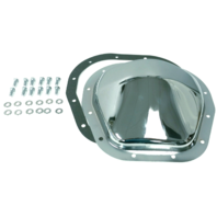 """Chrome Steel Ford 12-Bolt 10.5"""" RG Differential Cover Ford F100 F150 F250 F350"""