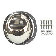 Chrome Steel Dana 35 10-Bolt Diff Differential Cover Jeep YJ Midsize