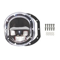 "Chrome Differential Cover, Compatible with Ford 7.5"" RG Ranger Bronco II 79-03 Mustang"