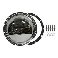 Chrome Steel Jeep 12-Bolt AMC 20 Axle Diff Differential Cover CJ5 CJ7 J10