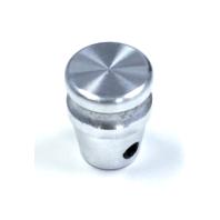 Hot Rod Machined Billet Aluminum Dash Knob W/ Set Screw Rat Rod Gasser Custom
