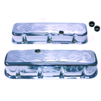 BIG BLOCK CHEVY TALL FLAME VALVE COVERS 396-502